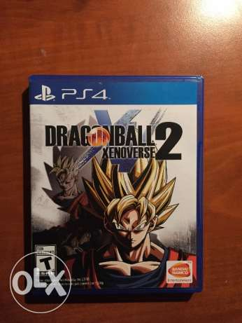 لعبة dragon ball xenoverse 2 ps4