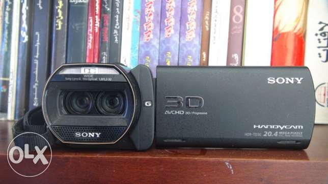 90full hd 3d handycam SONY HDR-TD30VE for sale قويسنا -  1