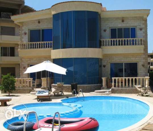 Villa for rent in Compound 5km to El Gouna.