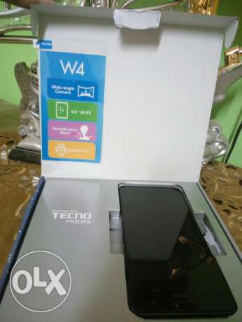 Tecno W4 like new