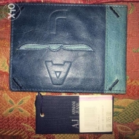 new authentice armani jeans wallet made in italy محفظة ارماني اصلي