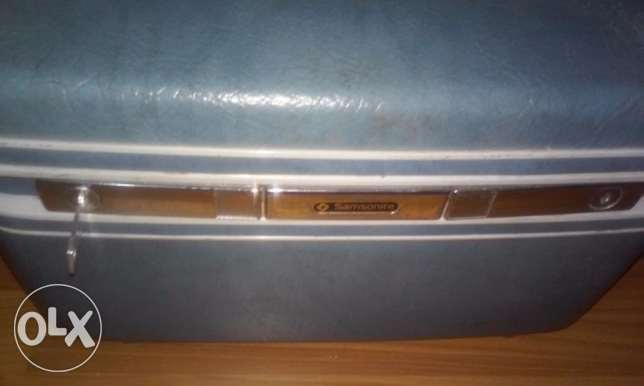 Vintage Samsonite makeup/train case سامسونيت