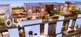 Apartment 232m with Roof 51m for sale in Courtyards Westown Sodic