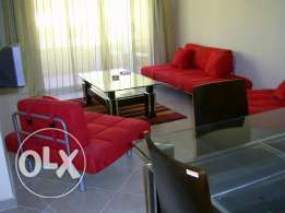 Fully Furnished 2 bed flat in British Resort