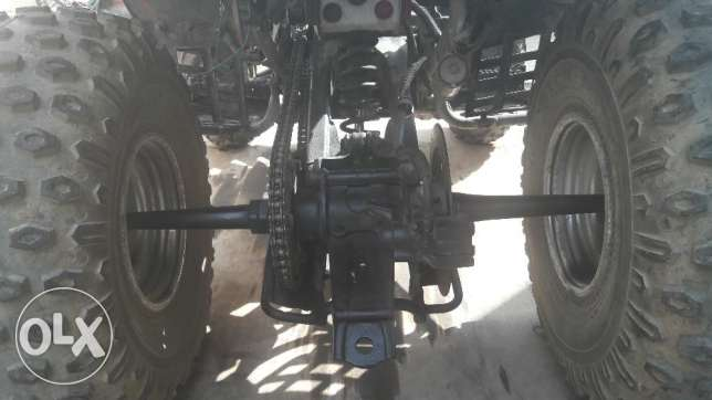 350cc atv yamaha warrior 2002 special edition التجمع الخامس -  3