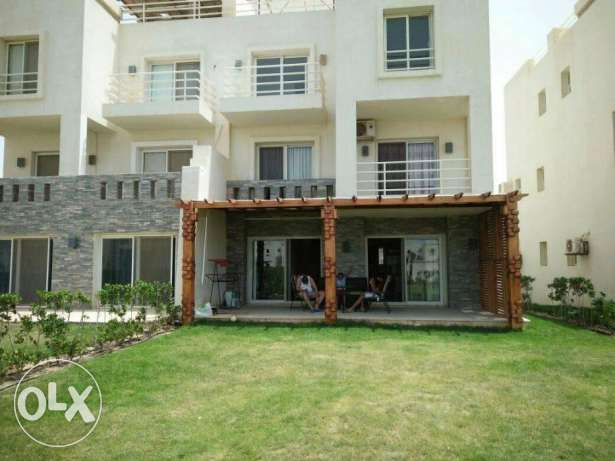 Amwaj Chalet ground with garden amazing location