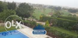 Golf View Villa for rent in katameya Heights New Cairo compound