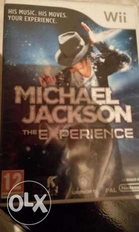 Michael jakson wii original cd games مدينة نصر -  1