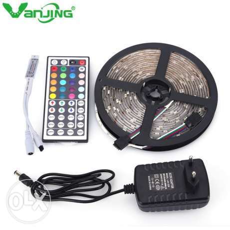 Rgb led 5 meter with remote control