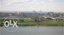 very special Office for rent in Maadi view of the Nile and the pyramid