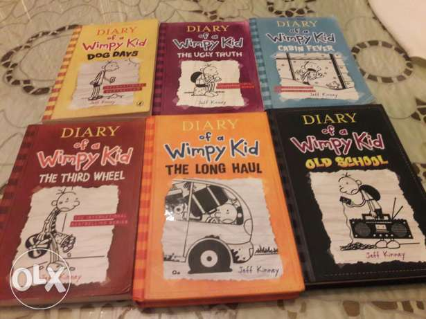 Diary of a wimpy kid part 3,5,6,7,9,10