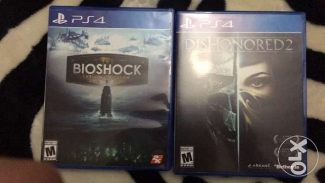 Bioshock and Dishonered 2