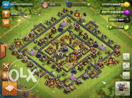 clash of clans th10max