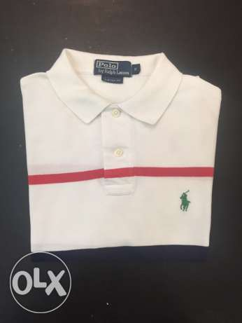 Original polo Ralph T-shirt size small , custom fit new