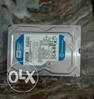 Hard disk western digital blue 320G sata