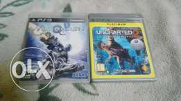 PS3 Games : Uncharted 2 , VanQuish