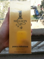 1 million 100 ml brand new from duty free