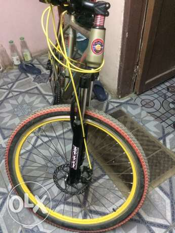 gomma mountain bike with a good condition