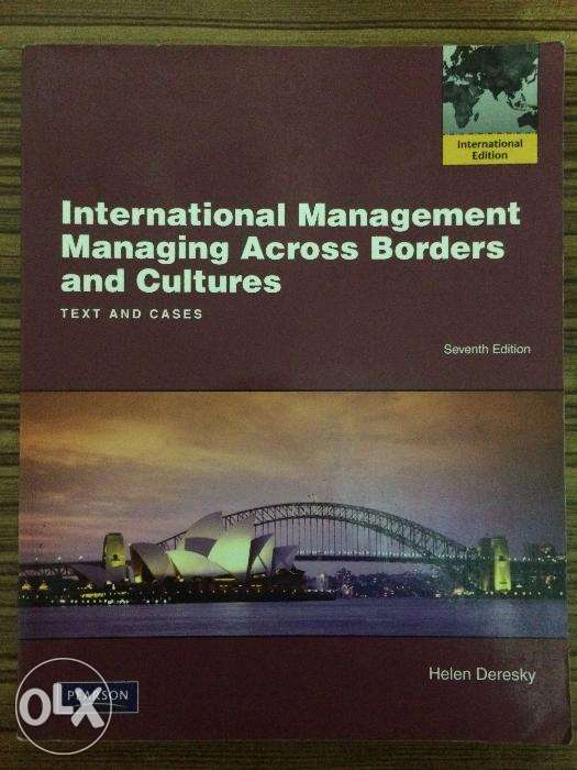 Managing across borders and cultures