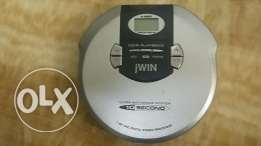 مشغل cd player طراز jwin بحالة الزيرو
