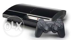 Playstation 3 + Controller + 2 CDs