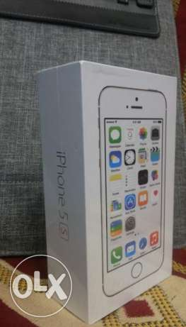 apple iphone 5s (64) giga جديد متبرشم