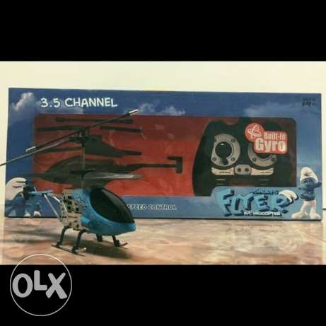 The Smurfs Flyer R\C Helicopter-