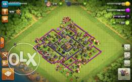 Clash of clan town hall 8