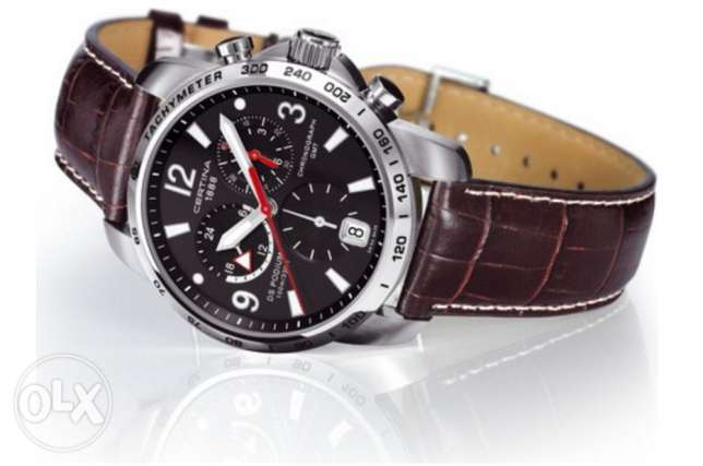 Certina DS Podium GMT Chronograph Sport Watch