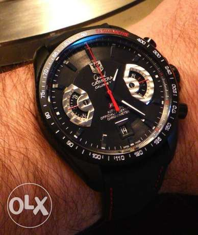 Tag Heuer Black Face Watch
