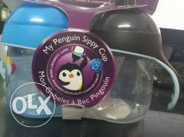 """Philips Avent My Penguin Sippy Cup """"Blue,Black """""""
