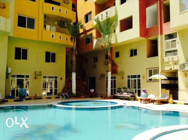 Hurghada. Diamond Arabia Compound. Apartment 1 bedroom. FOR RENT 300LE