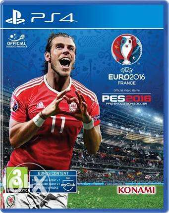 PES 2016 for PS4 حلوان -  1