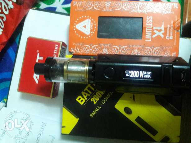 vape full kit 200 watt
