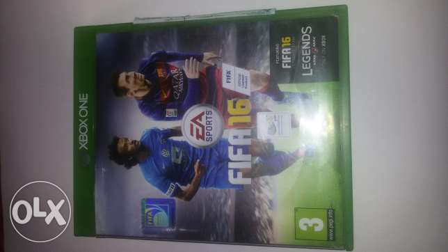 Fifa 16 X BOX One used for 10 months