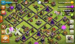 Clash of clans th9 max qween 30