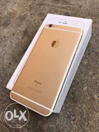 iPhone 6s plus 64g gold