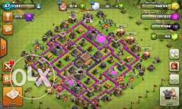 Clash of clan تون هول ٨