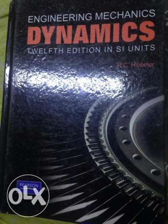 كتاب engineering mechanics dynamics twelfth edition in si units وسط القاهرة -  1