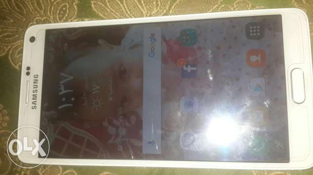 Note4 32g 4g بالكرتونه +سماعات +شاحن اصلي fast charger