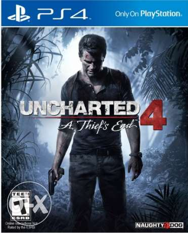 Uncharted 4 for playstation 4 sealed brand new مصر الجديدة -  1