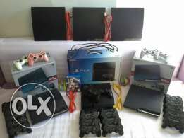 Five Play Station 3 For Sale.