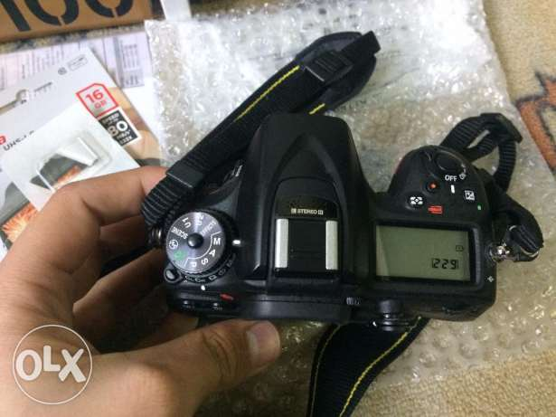 For sale Nikon D7100 with Lens 18-140 used only two monthes وسط القاهرة -  5