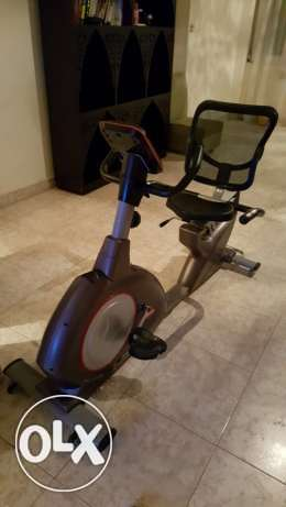 Brand new magnetic exercise bike المعادي -  1