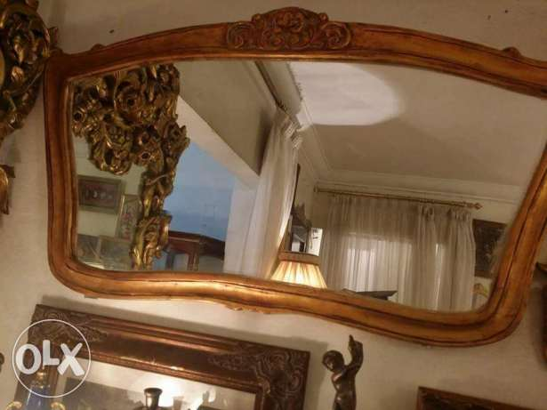 old mirror english gold 1x70 for 750