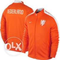 Nike juventus orange polyester jacket S & M & L