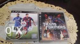Fifa 15 and Transformers ( PS3 )