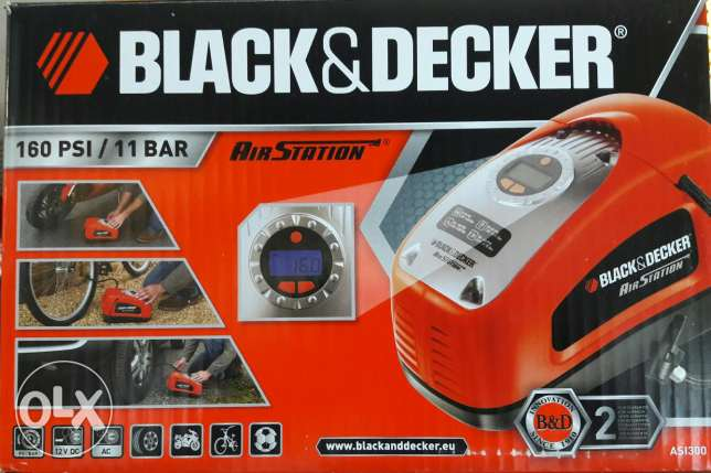 كمبروسر هواء BLACK&DECKER ASI300