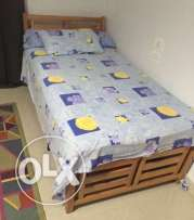 bed 1 meter + yansen mattress