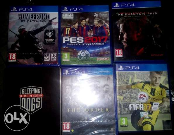 PS4 CDS for sale